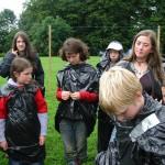 Makeshift raincoats