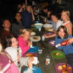 Outdoor mealtimes